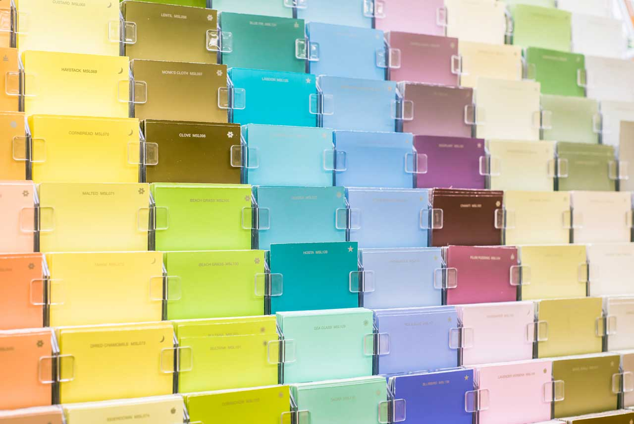 Paint colors that go together - Palettes