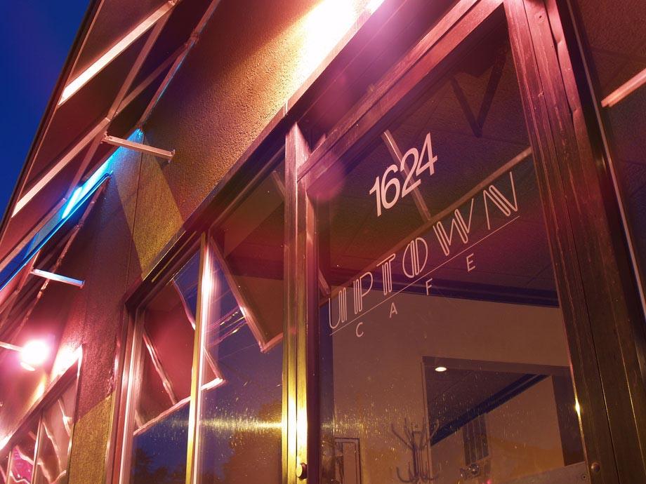 uptown cafe entrance