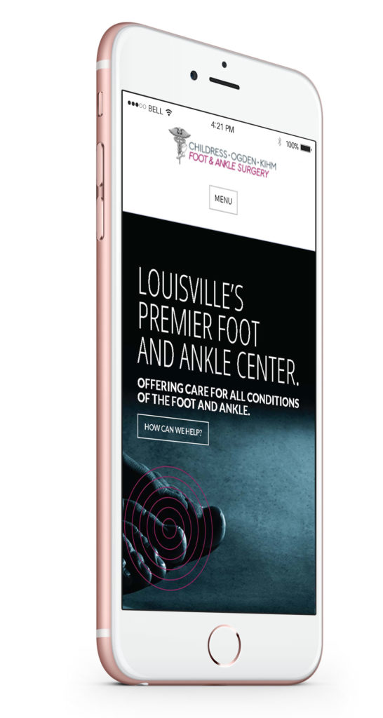 Childress podiatry on iphone