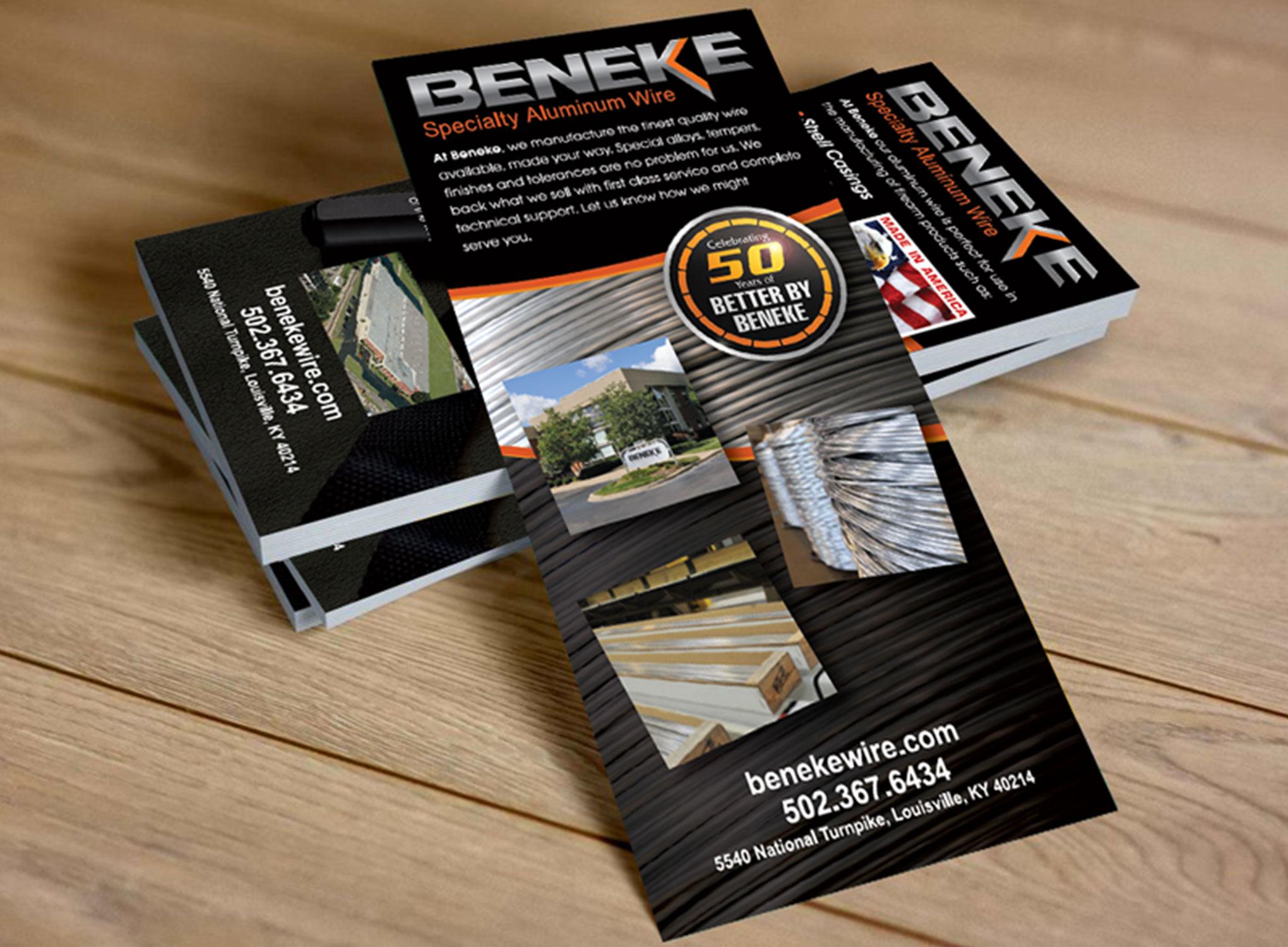 Beneke show flyers
