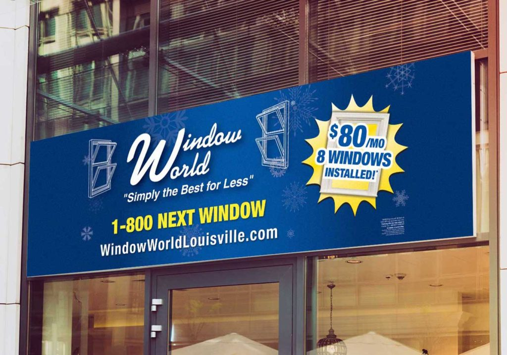 Window World billboard