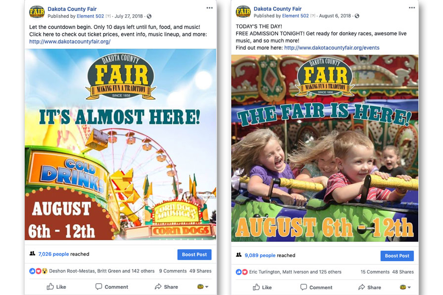 Dakota Fair almost here ads